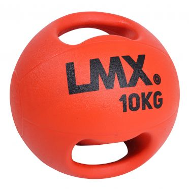 Lifemaxx medicijnbal met dubbel handvat 10 KG LMX 1250.10