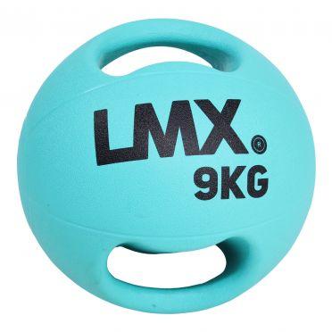 Lifemaxx medicijnbal met dubbel handvat 9 KG LMX 1250.9