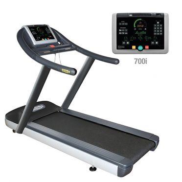 TechnoGym Loopband jog now excite+ 700i zwart gebruikt