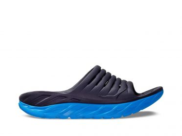 Hoka One One ORA Recovery Slide slippers blauw heren