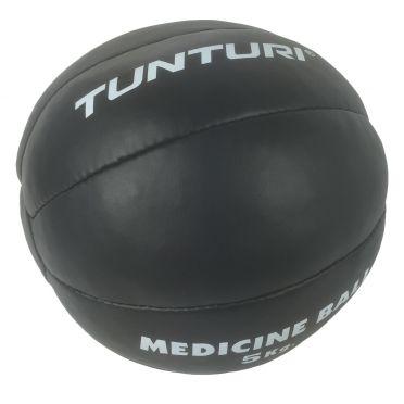 Tunturi Medicine ball Kunstleer 5 kg zwart