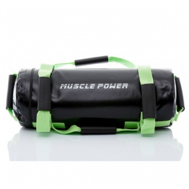 Muscle Power Power Bag 20 kilogram groen MP1030