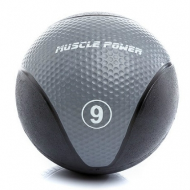 Muscle Power Medicine Ball  9 kg Grijs MP1005