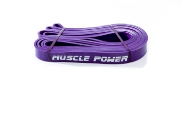 Muscle Power XL Power Band Paars Medium MP1402