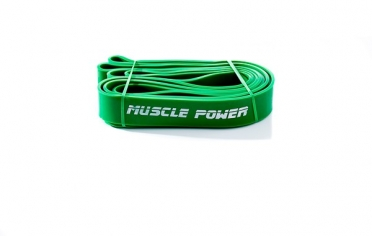 Muscle Power XL Power Band Groen Heavy MP1402