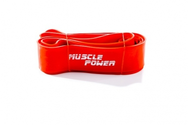 Muscle Power XL Power Band Oranje Super Heavy MP1402