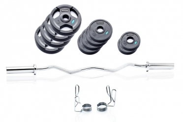 Muscle Power Olympische Biceps Curl Set 41 kg