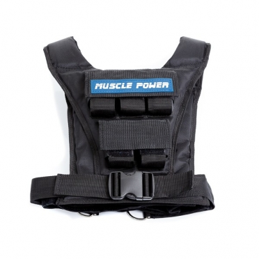 Muscle Power Gewichtsvest 10 kg dames en heren MP1216