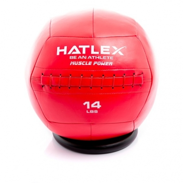 Muscle Power Hatlex Wall Ball 14 lbs MP1007