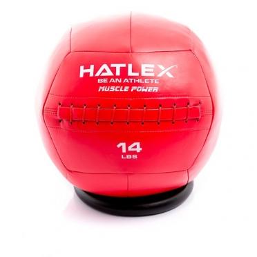 Muscle Power Hatlex Wall Ball 14 lbs MP1007