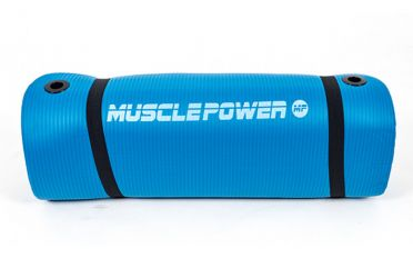 Muscle Power Gymnastiekmat Blauw 190 x 60 x 1,5 CM MP1454