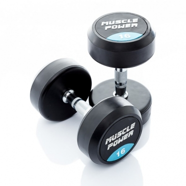 Muscle Power Ronde Dumbbellset 16 KG MP914