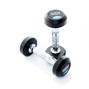 Muscle Power Ronde Dumbbellset 2 KG MP914