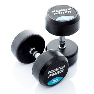 Muscle Power Ronde Dumbbellset 30 KG MP914