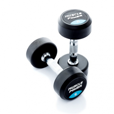 Muscle Power Ronde Dumbbellset 6 KG MP914
