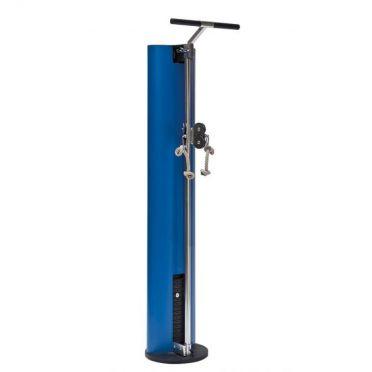 NOHrD SlimBeam verstelbare duo pulley blauw