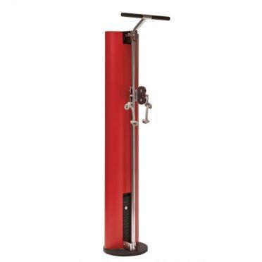 NOHrD SlimBeam verstelbare duo pulley rood