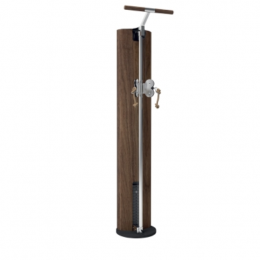 NOHrD Slimbeam verstelbare Duo Pulley Walnut