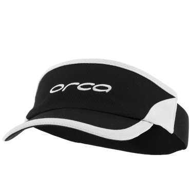 Orca Run visor zonneklep Flexi-Fit zwart/wit