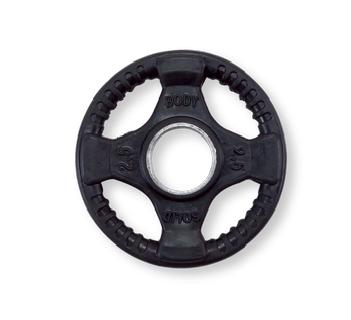 Body-Solid Olympische halterschijf rubber 2.5 kg