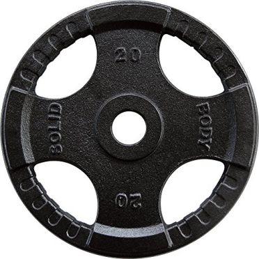 Body-Solid Olympische halterschijf rubber 20 kg