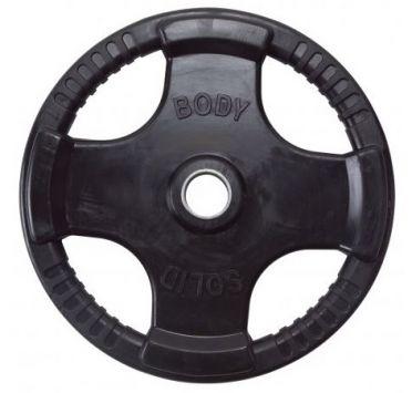 Body-Solid Olympische halterschijf rubber 25 kg