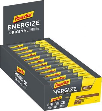 Powerbar Energize bar energiereep chocolade 25 x 55 gram