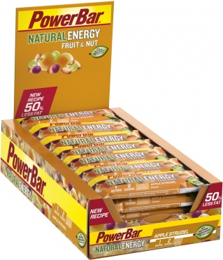 Powerbar Natural Energy Fruit & Nut Bar 24 x 40 gram