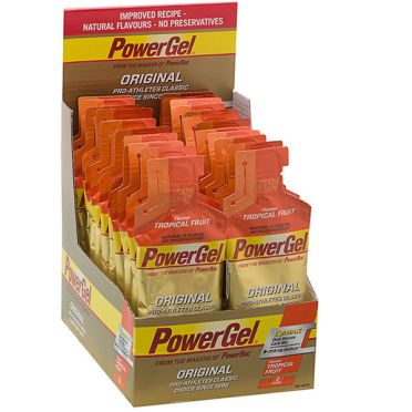 Powerbar Powergel original tropisch fruit 24 x 41 gram