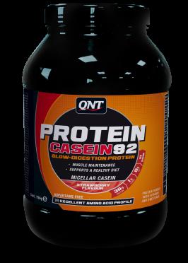 QNT Protein 92 casein aardbei 750 gram