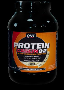 QNT Protein 92 casein vanille 2000 gram