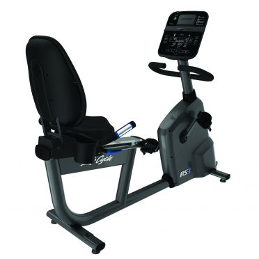 Life Fitness ligfiets RS3 recumbent Track Connect demo