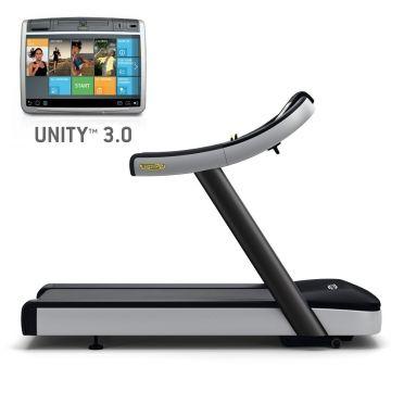 TechnoGym Loopband Excite+ Run Now 700 Unity 3.0 zwart gebruikt