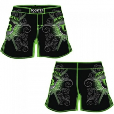 Booster MMA short Pro 15 Shield groen