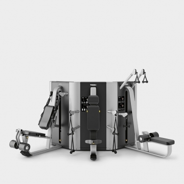 Technogym krachtstation Plurima Wall met leg extension