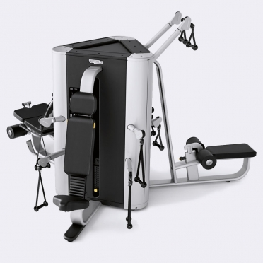 Technogym krachtstation Plurima Tower met leg extension