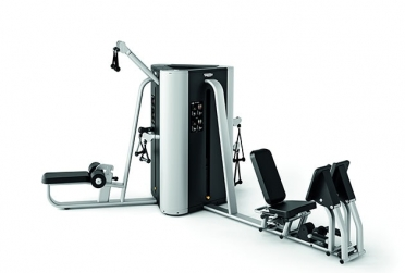 Technogym krachtstation Plurima Tower met leg press