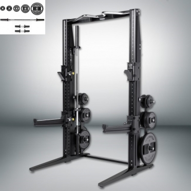 Technogym Rack Personal Dark met 115 KG Power Set