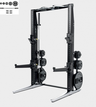 Technogym Rack Personal Chrome met 115 KG Power Set