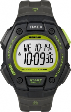 Timex Ironman Core 30 lap Full black lime (T5K824)