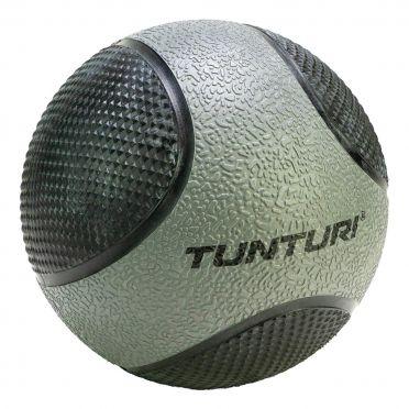 Tunturi Medicine ball 5 kg grijs/zwart