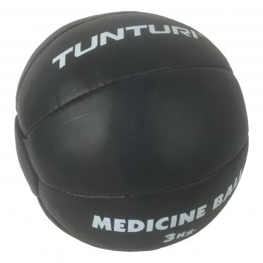 Tunturi Medicinebal Leder 3kg 14TUSBO103