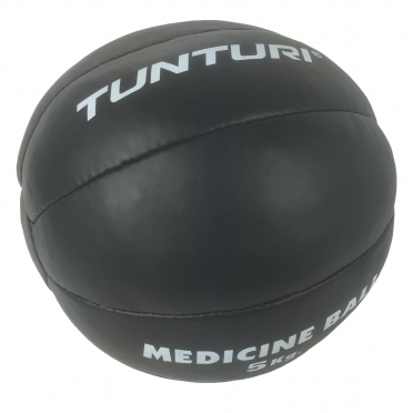 Tunturi Medicinebal Leder 5kg 14TUSBO104