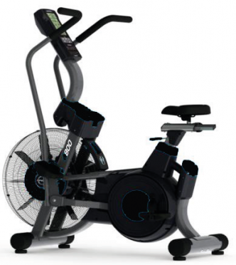 Tunturi hometrainer Platinum Pro Air Bike 17PTAB2000