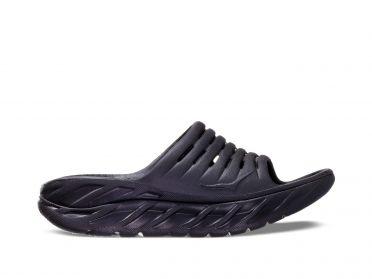 Hoka One One ORA Recovery Slide slippers zwart dames