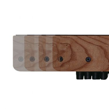 Waterrower XL rails Classic Walnoot