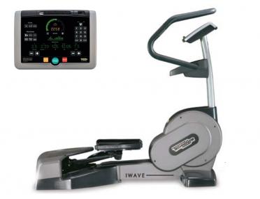 TechnoGym lateral trainer Wave Excite+ 700i zilver gebruikt