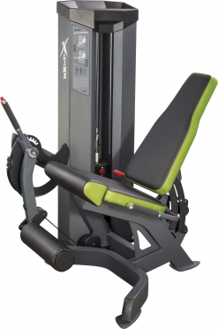 X-Line leg extension 150 kg weight stack XR107.1