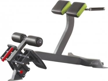 X-Line hyperextension angled XR313