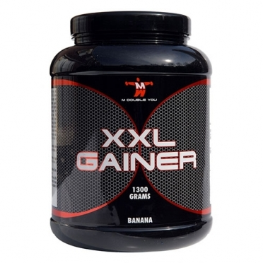 M Double You XXL Gainer 1300 gram aardbei